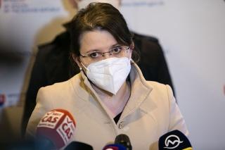 Štátna tajomníčka Ministerstva zdravotníctva SR Jana Ježíková