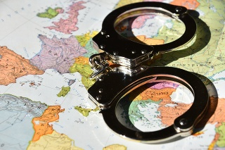 International crime concept