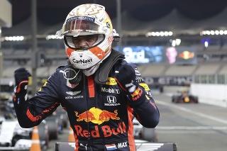 Holanďan Max Verstappen z tímu Red Bull.
