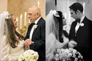 Manželia šťastne starnú bok po boku.