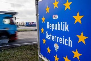 Rakúsko predĺžilo kontroly na hraniciach s Českom a Slovenskom (ilustračné foto).