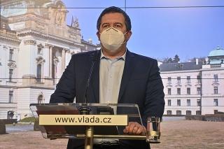 Český vicepremiér Jan Hamáček