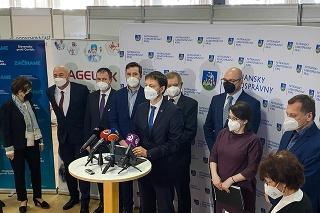 Práve otvorili veľkokapacitné očkovacie centrum v itre