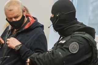 Lehel Horváth pred senátom Špecializovaného trestného súdu (ŠTS) v Pezinku