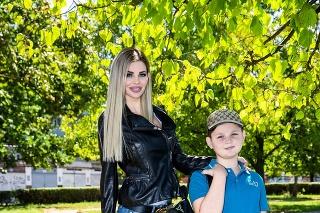 Silvia Kucherenko so synom