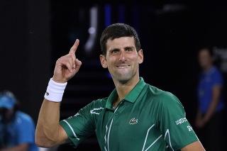 Novak Djokovič už prekonal rekord Rogera Federera.