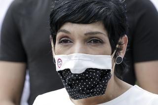 Predsedníčka mimoparlamentného hnutia Progresívne Slovensko Irena Bihariová