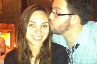 Luke s manželkou Amandou