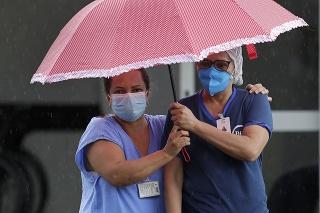 Brazílskym zdravotníckym zariadeniam začína dochádzať dych.