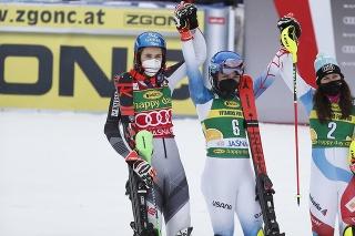 Vlhová skončila druhá v slalome v Jasnej za Shiffrinovou.