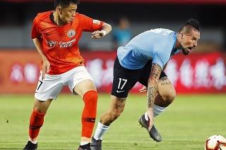 Hamšík bol v čínskej lige superhviezdou.