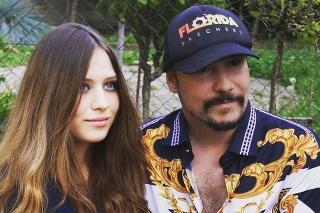 Herec a spevák Bohuš Matuš s priateľkou Lucinkou