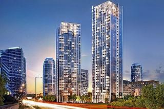Takto by malo vyzerať Portum towers po dokončení o 5 rokov.