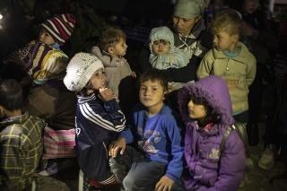 Z migračného tábora na Lesbose prišli šokujúce správy (ilustračné foto).