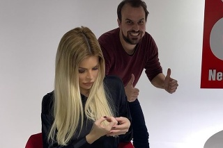 Silvia Kucherenko a Mojmír Procházka