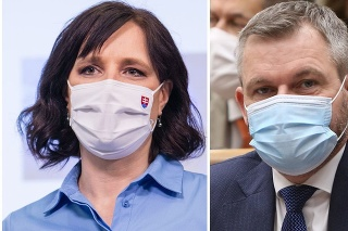 Ministerka Veronika Remišová a šéf Hlasu Peter Pellegrini