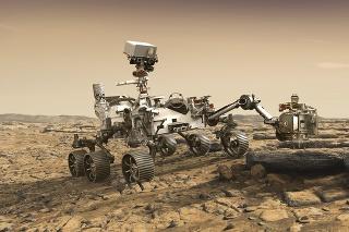 NASA vytvorilo ilustrácie roveru Perseverance.