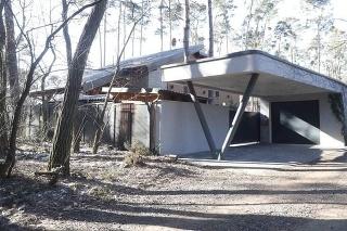 Dom v obci Plavecký Štvrtok, kde sa odohrala tragédia.