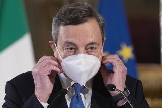 Bývalý šéf Európskej centrálnej banky (ECB) Mario Draghi