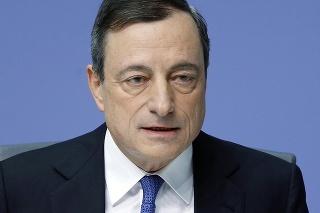 Prezident Európskej centrálnej banky Mario Draghi