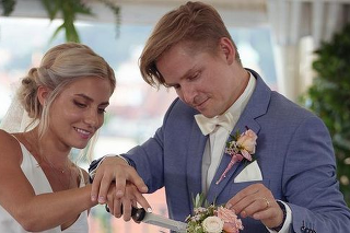 Svadba prvej dvojice.