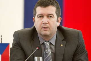 Minister vnútra ČR Jan Hamáček (ČSSD)