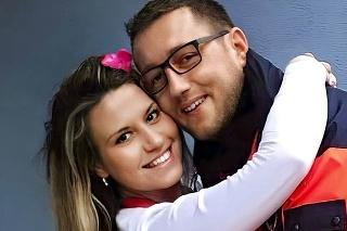 S manželkou Miškou (32), ktorá je tiež záchranárka, sa zoznámili v službe.