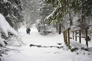 Sneh na západe dlho nevydrží.