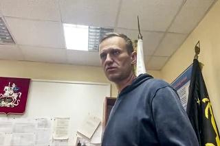 Ruský opozičný politik Alexej Navaľnyj