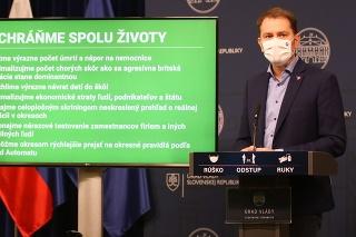 Igor Matovič predstavil plán celoplošného testovania.