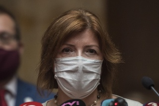 Epidemiologička Alexandra Bražinová