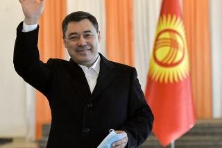 Prezidentský kandidát a populista Sadyr Žaparov