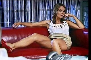 Herečka si zahrala v slovenskom seriáli Druhý dych.
