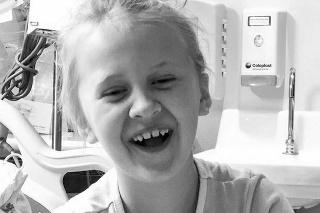 Dievčatko si v nemocnici vytrpelo svoje.