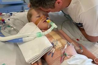 Malý bojovník William potrebuje transplantáciu srdiečka.