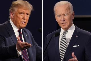 Prezidentskí kandidáti Donald Trump a Joe Biden