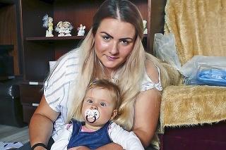 Mamička a dcérenka Lívinka majú časť boja za sebou.