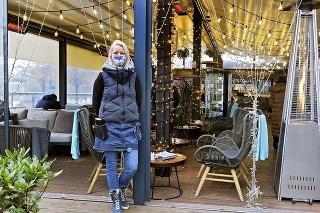 Katarína (40), Bratislava, prevádzkarka, La Crema