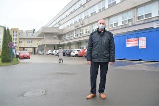 Riaditeľ vranovskej nemocnice Eugen Lešo