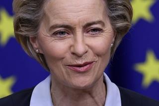 Predsedníčka Európskej komisie (EK) Ursula von der Leyenová
