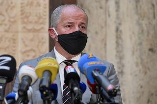 Minister zdravotníctva ČR Roman Prymula.