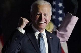 Novozvolený prezident Spojených štátov Joe Biden.