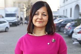 županka Erika Jurinová