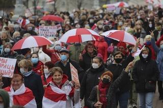Cichanovská oznámila, že v krajine prebieha celonárodný štrajk.