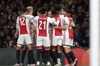 Hráči Ajaxu Amsterdam. (Ilustračné foto)