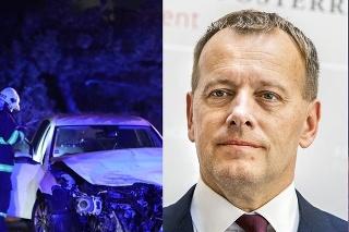 Boris Kollár sa zranil pri autonehode.