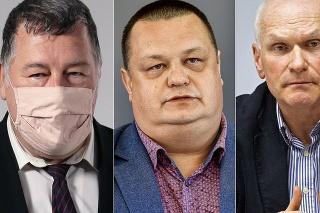 Vladimír Krčméry, Ján Mikas a Marian Kollár.