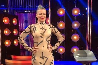 Herečka Erika Stárková v šou Tvoje tvář má známý hlas.