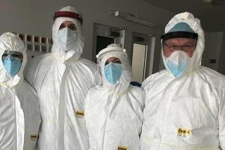V komárňanskej nemocnic operovali COVID pozitívneho pacienta
