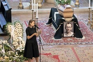 Švagriná v dojímavom príhovore nezabudla ani na syna zosnulých rodičov Adrianka.